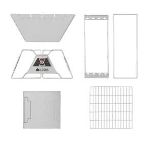 ロゴス LOGOS 焚き火台 the ピラミッドTAKIBI L ザ タキビ 81064162 od|himarayaod|03
