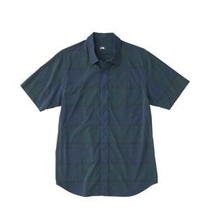 ノースフェイス 半袖シャツ メンズ ショートスリーブネバダシャツ Nevada Shirt NR21803 THE NORTH FACE od|himarayaod