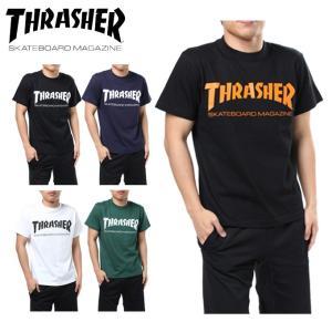 スラッシャー THRASHER Tシャツ 半袖 メンズ MAG LOGO S/S TEE マグ ロゴ TH8101 od|himarayaod