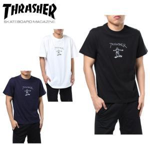 スラッシャー THRASHER Tシャツ 半袖 メンズ GOMZ S/S TEE TH8128 od|himarayaod