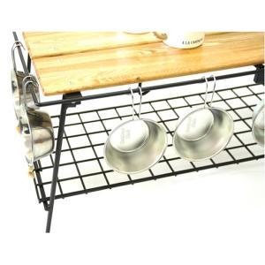 ネイチャートーンズ NATURE TONES アウトドアテーブル 大型テーブル THE FOLDING CAFE TABLE カフェテーブル CA-DB od|himarayaod|02