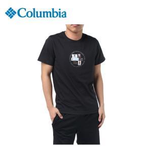 コロンビア Tシャツ 半袖 メンズ Anex Creek Short Sleeve Tee アネックス クリーク ショート スリーブ PM1357 010 Columbia od|himarayaod