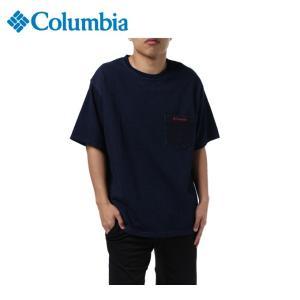 コロンビア Tシャツ 半袖 メンズ Blue Brook Short Sleeve Crew ブルー ブルック ショート スリーブ クルー PM4475 464 Columbia od|himarayaod