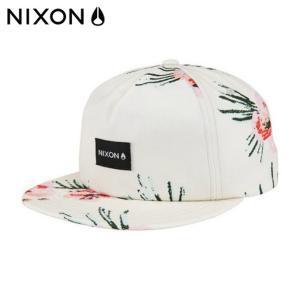 ニクソン NIXON キャップ メンズ レディース TROPICS SNAPBACK HAT トロピックススナップバックハット C2440104 od himarayaod