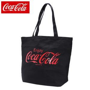 コカ・コーラ Coca-Cola トートバッグ メンズ レディース キャンバス COK-SCV-01 BK od|himarayaod
