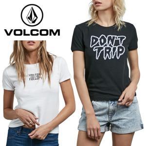 ボルコム VOLCOM Tシャツ 半袖 レディース Don't Even Trip Tee ドントイーブントリップティー B3511800 od|himarayaod
