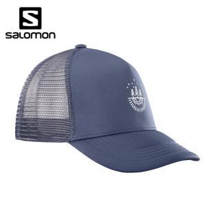 サロモン キャップ メンズ SUMMER LOGO CAP サマー ロゴ L40046500 salomon od|himarayaod