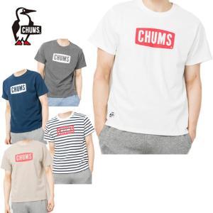 チャムス CHUMS Tシャツ 半袖 メンズ ロゴTシャツ トップス Logo T-Shirt CH01-1324 od|himarayaod