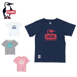チャムス CHUMS 半袖シャツ ジュニア Kid's Booby Face T-Shirt キッズブービーフェイスTシャツ CH21-1051 od|himarayaod