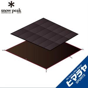 スノーピーク インナーマットグランドシートセット アメニティドームL用 マットシートセット SET-121H snow peak od|himarayaod