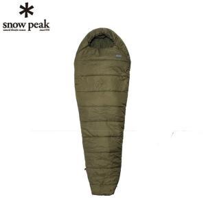 スノーピーク snow peak マミー型シュラフ ミリタリースリーピングバッグ オリーブドラブ BDD-050OD od himarayaod