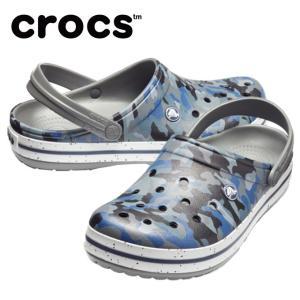 【送料無料】 クロックス サンダル メンズ レディース crocband graphic 3.0 clog クロックバンド グラフィック 3.0 クロッグ 205330-97G crocs od