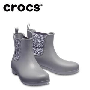 クロックス レインブーツ レディース crocs freesail chelsea boot w クロックス フリーセイル チェルシー ブーツ ウィメン 204630-0EY crocs od|himarayaod