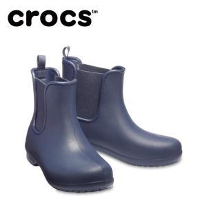 クロックス レインブーツ レディース crocs freesail chelsea boot w クロックス フリーセイル チェルシー ブーツ ウィメン 204630-463 crocs od|himarayaod