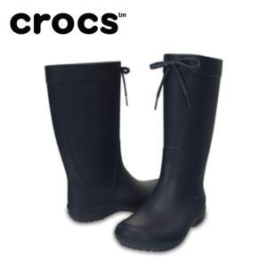クロックス レインブーツ レディース crocs freesail rain boot w クロックス フリーセイル レイン ブーツ ウィメン 203541-410 crocs od|himarayaod