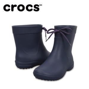 クロックス crocs freesail shorty rainboot w クロックス フリーセイル ショーティー レイン ブーツ ウィメン 203851-410 crocs od|himarayaod