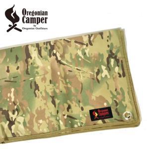 オレゴニアンキャンパー Oregonian Camper グラウンドシート 防水グランドシート マルチカム Mサイズ 140×100cm OCB-711 od|himarayaod