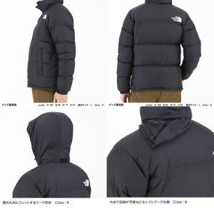 ノースフェイス アウトドア ジャケット メンズ Nuptse Jacket ヌプシジャケット ND91841 K THE NORTH FACE od|himarayaod|05