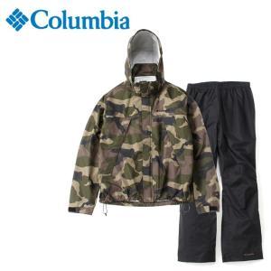 コロンビア レインウェア上下セット メンズ シンプソンサンクチュアリパターンドレインスーツ PM0123 365 Columbia od himarayaod