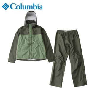 コロンビア レインウェア上下セット メンズ シンプソンサンクチュアリレインスーツ PM0124 347 Columbia od|himarayaod