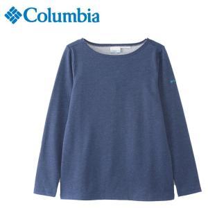 コロンビア Tシャツ 長袖 レディース St. Louis Isle Women's Long Sleeve Crew セントルイスアイルウィメンズロングスリーブクルー PL7111 464 Columbia od|himarayaod
