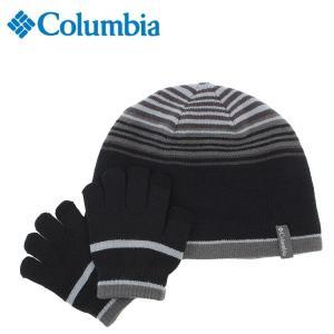 コロンビア ニット帽 ジュニア ユースハットアンドグローブセット Youth Hat And Glove Set CY0014 010 Columbia od|himarayaod