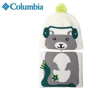 コロンビア ニット帽 ジュニア スノウモアビーニー&ゲーターセット CY0065 100 Columbia od|himarayaod