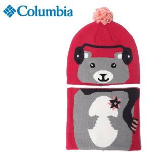 コロンビア ニット帽 ジュニア スノウモアビーニー&ゲーターセット CY0065 612 Columbia od|himarayaod