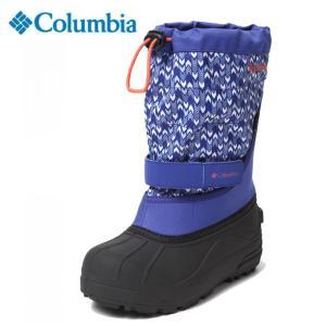 コロンビア スノーブーツ 冬靴 ジュニア Youth Powderbug Plus II Print ユース パウダーバグプラス2プリント BY1327-516 Columbia od|himarayaod