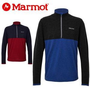 マーモット Marmot 長袖シャツ メンズ レディース Climb Wool Stretch L/S Zip TOMMJB69 od|himarayaod