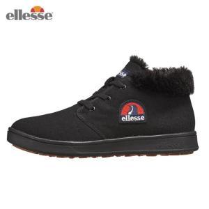 エレッセ ellesse スノーブーツ 冬靴 レディース ヘリテージ エットーレ ウインターチャッカ カジュアル 靴 EFH8324 K od|himarayaod