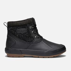 キーン KEEN スノーブーツ 冬靴 レディース ベレテア アンクルウール ウォータープルーフ ウィンターブーツ 1019605 BK/RA od himarayaod 02