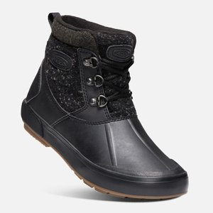 キーン KEEN スノーブーツ 冬靴 レディース ベレテア アンクルウール ウォータープルーフ ウィンターブーツ 1019605 BK/RA od himarayaod 04