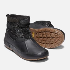 キーン KEEN スノーブーツ 冬靴 レディース ベレテア アンクルウール ウォータープルーフ ウィンターブーツ 1019605 BK/RA od himarayaod 05