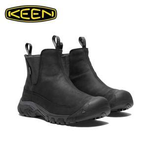 キーン KEEN スノーブーツ 冬靴 メンズ Anchorage Boot III WP アンカレッジ ブーツ スリー ウォータープルーフ 防水ウィンターブーツ 1017789 BK/RA od himarayaod