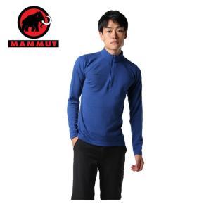 マムート MAMMUT 長袖シャツ メンズ PERFORMANCE Thermal Zip long Sleeve Men パフォーマンス サーマル 1016-00090 5967 od|himarayaod