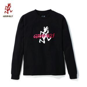 グラミチ Gramicci Tシャツ 長袖 メンズ LOGO L/S TEE ロゴロングスリーブTシャツ GUT-18F046 od|himarayaod