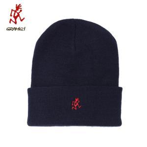 グラミチ Gramicci ニット帽 メンズ WATCH CAP ワッチキャップ GAC-18F055 NAVY od|himarayaod