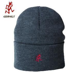 グラミチ Gramicci ニット帽 キャップ WATCH CAP ワッチキャップ GAC-18F055 CHARCOAL od|himarayaod