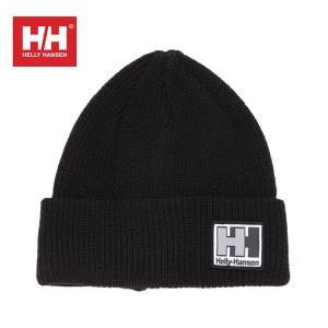 ヘリーハンセン HELLY HANSEN ニット帽 ジュニア プレーンビーニー HCJ91752 K od|himarayaod