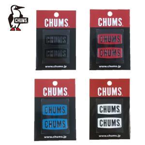 チャムス CHUMS CHUMS Logo Emboss Sticker チャムスロゴエンボスステッカー CH62-1125 od himarayaod