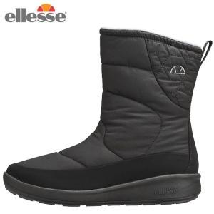 エレッセ ellesse スノーブーツ 冬靴 レディース Bormio Winter Warm Boots Semi Long ボルミオ ウインター ウォームブーツ セミロング EFW8340 K od|himarayaod