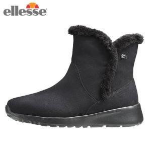 エレッセ ellesse スノーブーツ 冬靴 レディース コルティナ ウインターブーツミッド カジュアル 靴 EFW8344 K od|himarayaod