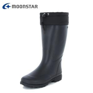 ムーンスター MoonStar スノーブーツ 冬靴 メンズ 軽量 防滑メンズラバーブーツ ブラック MFL 35R od|himarayaod