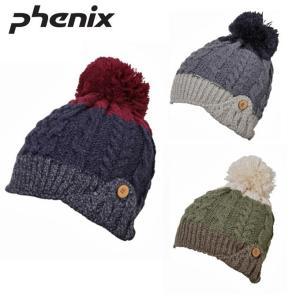 フェニックス Phenix ニット帽 レディース ラウンド イヤーフラップ ビーニー Round Earflap Beanie PH868HW69 od|himarayaod