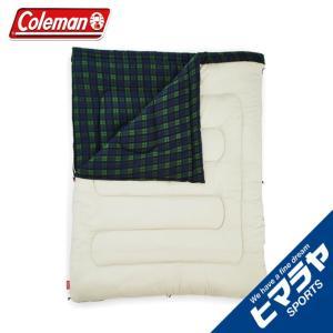 コールマン 封筒型シュラフ アドベンチャーフリーススリーピングバッグ C0 オリーブチェック 2000033804 Coleman od|himarayaod