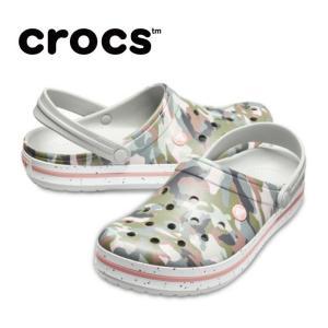 クロックス サンダル レディース crocband graphic 3.0 clog クロックバンド グラフィック 3.0 クロッグ 205330-97A crocs od|himarayaod