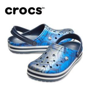 クロックス サンダル メンズ レディース crocband graphic 3.0 clog クロックバンド グラフィック 3.0 クロッグ 205330-0DG crocs od|himarayaod