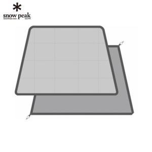 スノーピーク snow peak インナーマット エルフィールド マットシートセット Elfield Mat Sheet Set TP-880-1 od|himarayaod