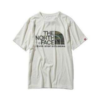 ノースフェイス Tシャツ 半袖 メンズ ショートスリーブカモフラージュロゴティー S/S Camouflage Logo Tee NT31932 W  od|himarayaod